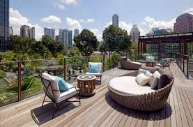 high end garden furniture. tosca daybed by luxury outdoor furniture brand trib at twin peaks in singapore high end garden o