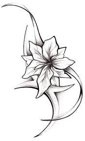Motiv Tetování Kytky 208