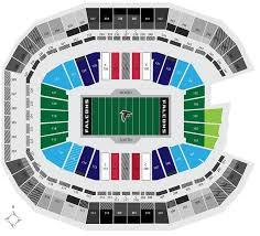 Lsu Stadium Club Seating Chart Atlanta Falcons Seating Chart Seat Views Tickpick