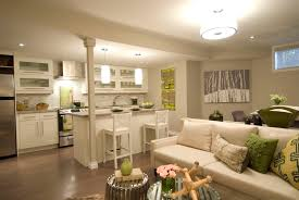Interior Design Ideas For Endearing Kitchen And Living Room Design