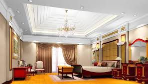 Beautiful Ceiling Interior Design with Modern Decorations .