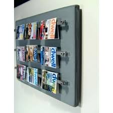 magazine racks for office. Magazine Wall Rack Fascinating Large Picture Ideas Racks Office Mount For S