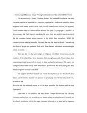 """young goodman brown documents course hero summary and response essay """"young goodman brown"""" by nathaniel hawthorne"""