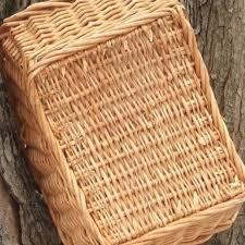 large garden basket natural wicker basket for produce or
