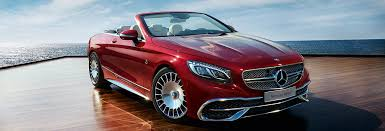 The drive system has an output of 550 kw (750 ps). Mercedes Maybach S 650 Cabriolet