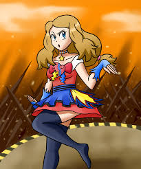 2018] Serena (Pokémon XY Anime) - Showcase Dress Redesign by SHF1 on  Newgrounds