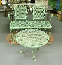 Vintage Metal Patio Furniture Or Vintage Metal Porch Chairs 53
