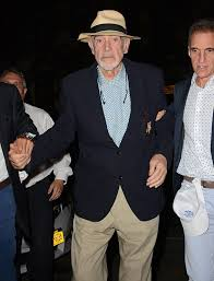 acting legend sir sean connery 85 makes rare public appearance sean connery r arrives to watch the 2015 us open men s singles final match