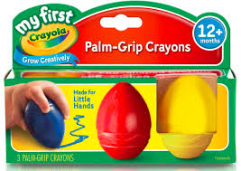 Crayon Rings Crayola My First Crayola Palm Grip Crayons 3 Count Walmartcom