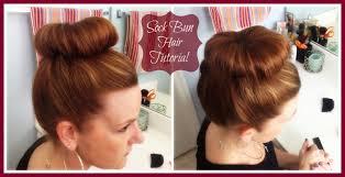 Sock Bun Hair Style hair tutorial how to do a sock bun pretty extraordinary 3402 by wearticles.com