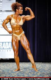 Christina Rhodes - prejudging - 2009 IFBB North American Championships