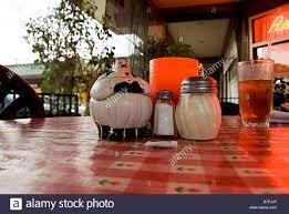 Italian Table Setting Italian Restaurant Table Setting With Iced Drink Stock Photo