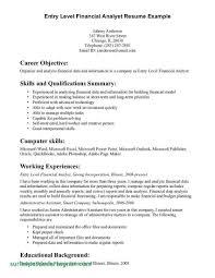 Entry Level Data Analyst Resume Awesome Finance Resume Keywords