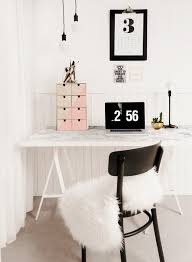 ikea office inspiration. Marble-desk-ikea-hack-office-inspiration Ikea Office Inspiration A