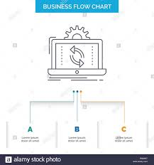 Reporting Flow Chart Template Data Processing Analysis Reporting Sync Business Flow