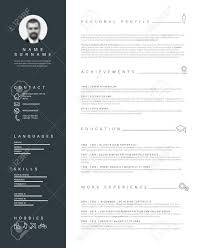 Free Minimalist Resume Template Minimalist Cv Resume Template With Nice Typogrgaphy Design 20