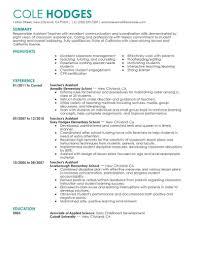 Esl Teacher Resume Example Sample 60 Amazing Education Resume Examples Livecareer Teachers Resume 41