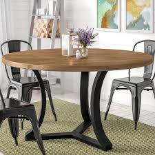 louisa modern rounded dining table