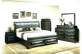 Black Leather Full Size Headboard Faux White Jam Bedrooms Appealing ...