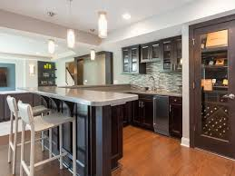 Industrial Modern Bedroom Stone Basement Bar Ideas Finished