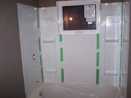 tub wall kit how to install bathtub surround a bath sterling installation tubs walls 5 piece kits