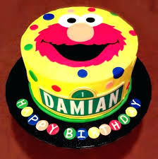Elmo Birthday Cake Toppers Best Of Sesame Street Images On Pinterest