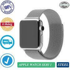 Đồng hồ thông minh Apple Watch Seri 1 GPS, bản thép 42mm