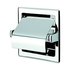 recessed toilet paper holder with cover. Fine Toilet Nameeks Standard Hotel Chrome Recessed Toilet Paper Holder With Cover To With O