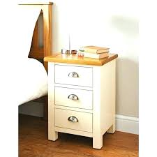 narrow bedside table with drawers tall side table with drawers bed side tables 3 drawer bedside