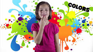 Colors Song Learn Your Asl Colors