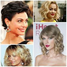 Short Wavy Hair Style 2017 gorgeous celebrities with short curly haircuts new haircuts 3560 by wearticles.com