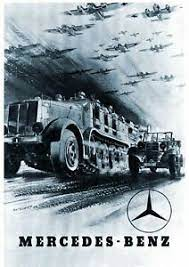 A mercedes poster from the 1908 french gp. Ww2 German Wehrmacht Mercedes Benz Poster Ebay