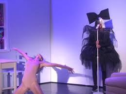 ellen degeneres and heidi klum dress up and perform chandelier for