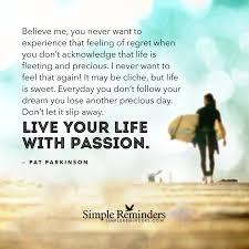 be passionate about life tsitsi mutendi pat parkinson live life passion 3s8h