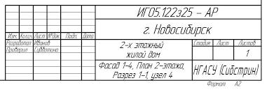 Контрольные работы  ГОСТ 21 1101 2009 форма 3 Обозначить документ ИГ05 122з25 АР ИГ код дисциплины 05 номер задания 122з номер группы 25 номер варианта