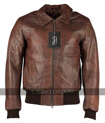 the deal vintage er style leather jacket