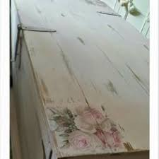 floral decoupage furniture. Blanket Box Painted As Antionette Distressed And Floral Decoupage Furniture M