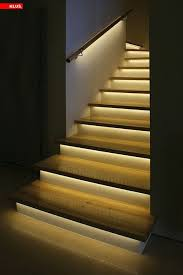 stairwell lighting ideas. mediumdensity fibreboard mdf led light strip housing stair lighting stairwell ideas i