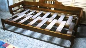 wooden sofa bed you rh you com diy sofa bed from pillow pockets