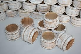 25 rustic wood napkin ring holder wedding napkin rings white washed wood napkin