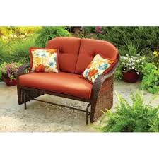 better homes and gardens azalea ridge replacement cushions. Amazon.com: Outdoor Patio Glider By Better Homes And Gardens: Garden \u0026 Gardens Azalea Ridge Replacement Cushions P
