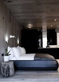modern contemporary masculine bedroom