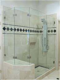 interior architecture amusing frameless shower door cost in doors nj glass enclosure from frameless shower