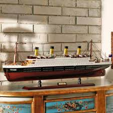 Titanic Model With Led Lights Details About New Hobby Collection Retro Handcraft Wooden 80cm Titanic Ship Model Led Lights