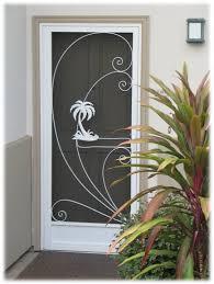 residential screen door