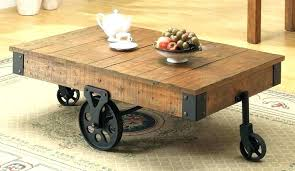 industrial coffee table with wheels pallet coffee table on wheels pallet wood projects pallet coffee table