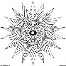 These Geometric Coloring Pages Pictures Are Online Coloring Pages