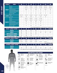 Ca Chart Size Chart Blanksportswear Ca