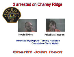 2 arrested on Chaney Ridge after a... - Laurel County Sheriff's Office    Facebook
