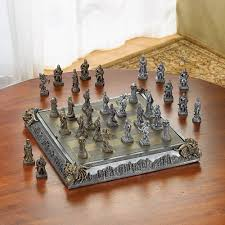 this meval wooden chess set makes a unique 5th wedding anniversary if your spouse plays chess